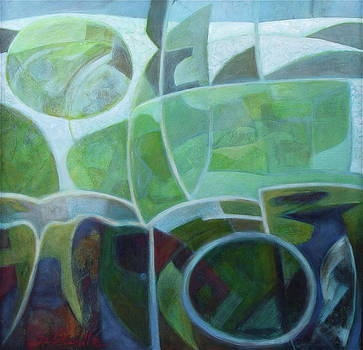 Illusionist Landscape by Bonnie Schulte