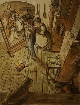illustration for Cinderella by Jennifer Soriano