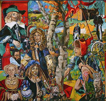 Im herbstlichen Wald by Matthias Laurenz Graeff