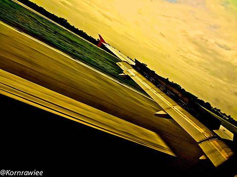 I'm landing by Kornrawiee Miu Miu