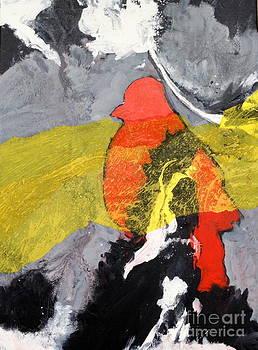 Red Bird Flyaway by Patsy Walton