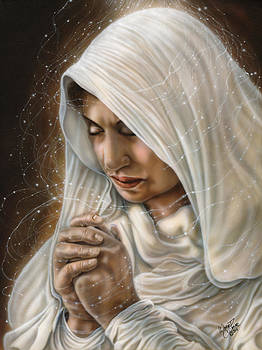 Immaculate Conception - Mothers Joy by Wayne Pruse