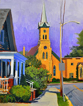 Immanuel Lutheran Church by Anthony Sell