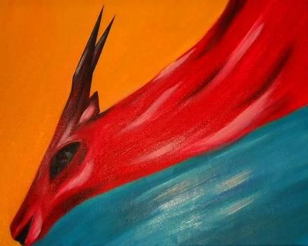 Impala in red by Joseph Ferguson