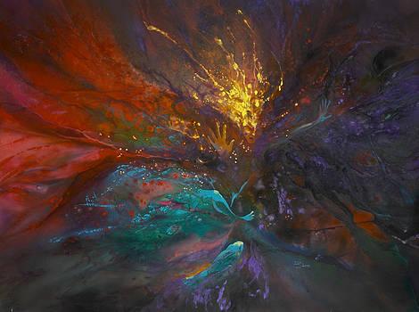 Impatiens Explosion by Lynette Yencho
