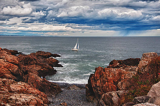 Impending Storm by Sandy Scharmer