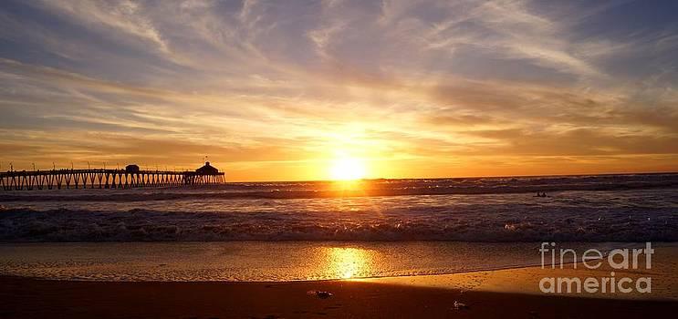 Imperial Beach Sunset by Kerri Mortenson