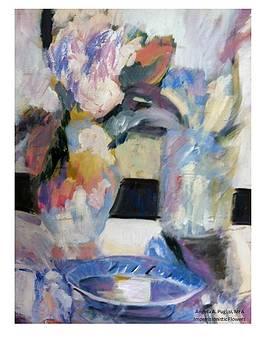 Impressionistic flowers by Angela Puglisi