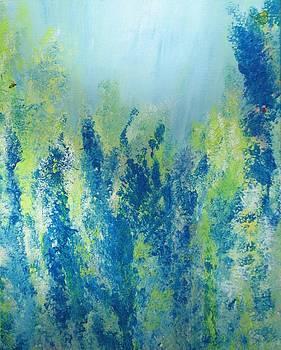 Impressionistic Flowers by Paula Peltier