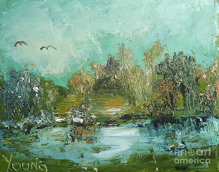Impressionistic Scene by Ellen Young