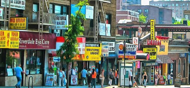 In Da Hood New York by Mick Flynn