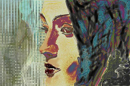 In front of the window by Maria Jesus Hernandez