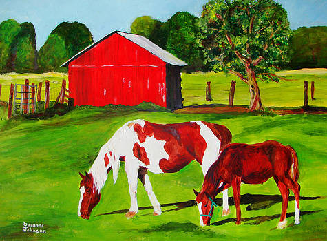 In Green Pastures by Suzanne Johnson
