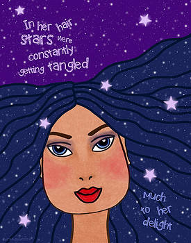 In Her Hair Stars Were Constantly Getting Tangled by Cat Whipple