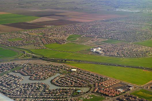 In the Air Over Sacramento CA by Mischelle Lorenzen