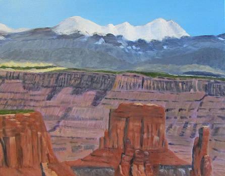 In the Canyonlands Utah by Linda Feinberg