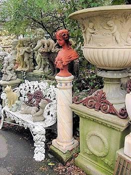 In the Cemenet Garden #7 by Vickie G Buccini