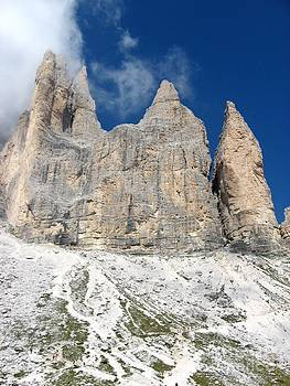 In the Dolomites -Drei Zinnen by Christine Huwer