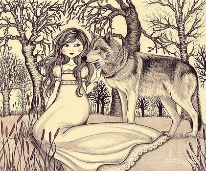 In the forest by Snezana Kragulj