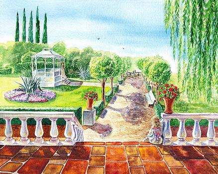 In The Garden by Irina Sztukowski