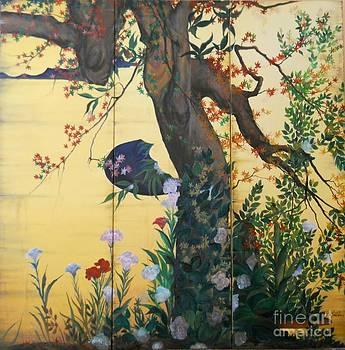 In the garden by Sorin Apostolescu