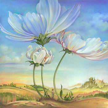 In the Half-shadow of Wild Flowers by Anna Ewa Miarczynska