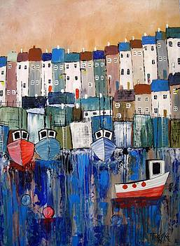 In The Harbour by Trudy Kepke