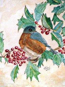 Angela Davies - In The Holly Tree