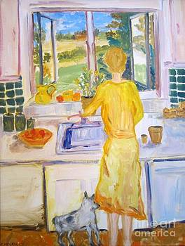 In The Kitchen by Colleen Kidder