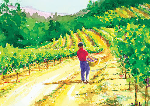 In the Vineyard by Ray Cole