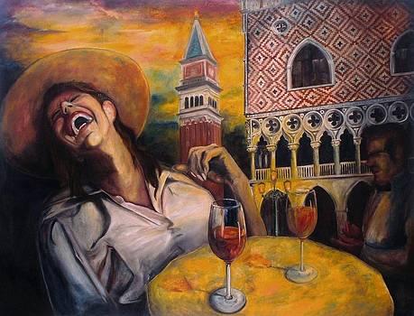 In Vino Happy by Alex Spinello
