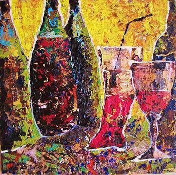 In vino veritas by Vladimir Domnicev