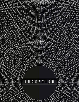Inception Movie Poster by Mike Taylor