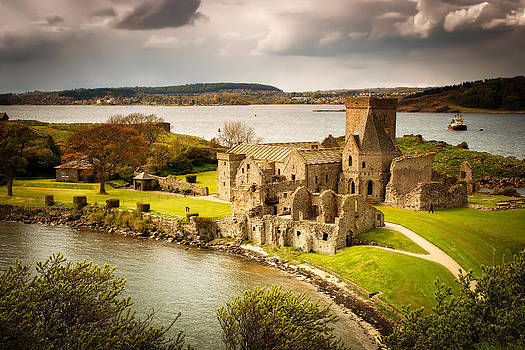 Inchcolm Island Abbey by Andrew Barker