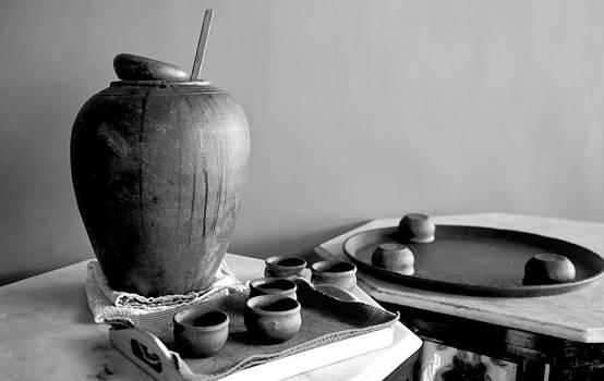 Kantilal Patel - Indeginous craft of earthern ware display