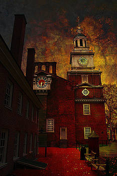 Independence Hall Philadelphia let freedom ring by Jeff Burgess