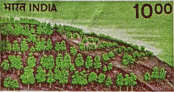Bill Owen - India 10.00 Stamp