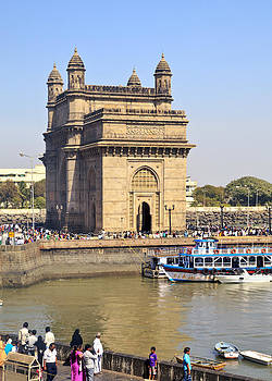 Kantilal Patel - India Gateway from Taj Ocean View