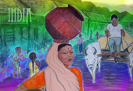 India by Karen R Scoville