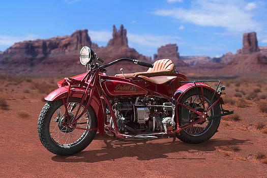 Mike McGlothlen - Indian 4 Sidecar 2