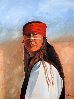 Indian Brave by Joe Prater