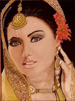 Indian Bride by Harold Hopkinson