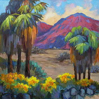 Diane McClary - Indian Canyon in Spring