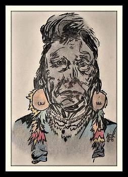 Indian Chief by Janet Moss