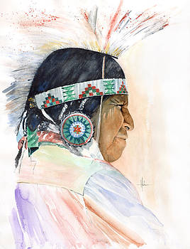 Indian Chief by Richard Hahn
