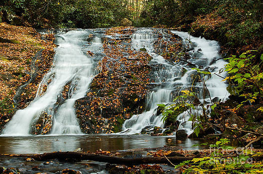 Indian Creek Falls by Patrick Shupert