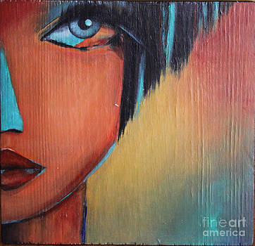 Indian Girl by Hope Mastroianni