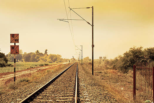 Kantilal Patel - Indian Hinterland railroad track