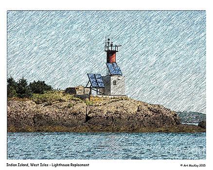 Art  MacKay - Indian Island Lighthouse Site