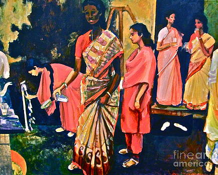 Indian Luncheon by Linda Zolten Wood